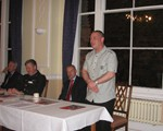 Andy Giddings, IAM Examiner, guest speaker at AGM