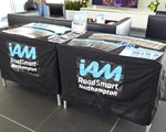 2019 CarKraft March - our stand (minus our brand new IAM RoadSmart flag as there were no poles in the box!!