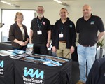 2019 CarKraft March - Just some of the excellent support we had l-r: Valerie, Jack, David and Steve