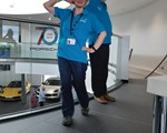 2019 May CarKraft - a bit of posing in our new polo shirts!