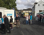 2019 Raunds Festival of Transport - conveniently sited next to ice cream van and tea stall!!