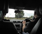 2018 August demo drive: rural roads (albeit a wide one!)