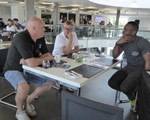 2018 June CarKraft - A quick chat during some downtime, Steve, John and Cardew