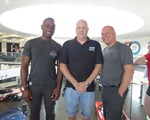 2018 June CarKraft - afternoon team Cardew, Steve and Peter raring to go!
