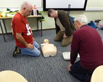 First aid training May 2018 - CPR and community defibrillators
