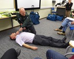 First aid training May 2018 - how to put somebody ito recovery position