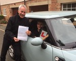 Calum Hall-German, who in the space of 10 months passed the driving test, passed the 4 A-levels at the required grade, accepted a place at his chosen medical school and passed the advanced driving test.
