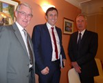 AGM (April): Secretary David Smith, Preisdent Andy Cox and Chair John Norrie