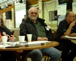 Geoff Russell, Chair of Regional Meeting, and member of Northamptonshire Motorcycle Group