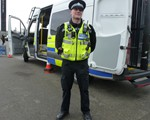 One of our Observers, Adam Jeskins, who is also a Special Constable, looking smart in his uniform