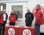 OpenRoads 2016: John Norrie, Alan Brown, Ian Firth (IAM HQ) and Jim Cole - Ready for action!