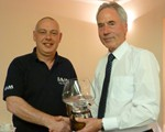 Andy Giddings receiving our Preisdents Award, congratulations Andy