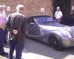 envious looks at pone of the morgans!