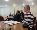 Central East Forum afternoon session which was very interesting.  Dave Smith, NAM Secretary, in stripey top!