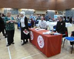 More from the Christmas fayre at Northamptonshire police.